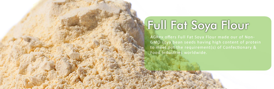 Full Fat Soya Flour